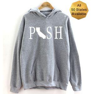Posh Boss States Hooded Sweatshirt